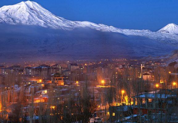 En Büyük Dağın Şehri Ağrı…